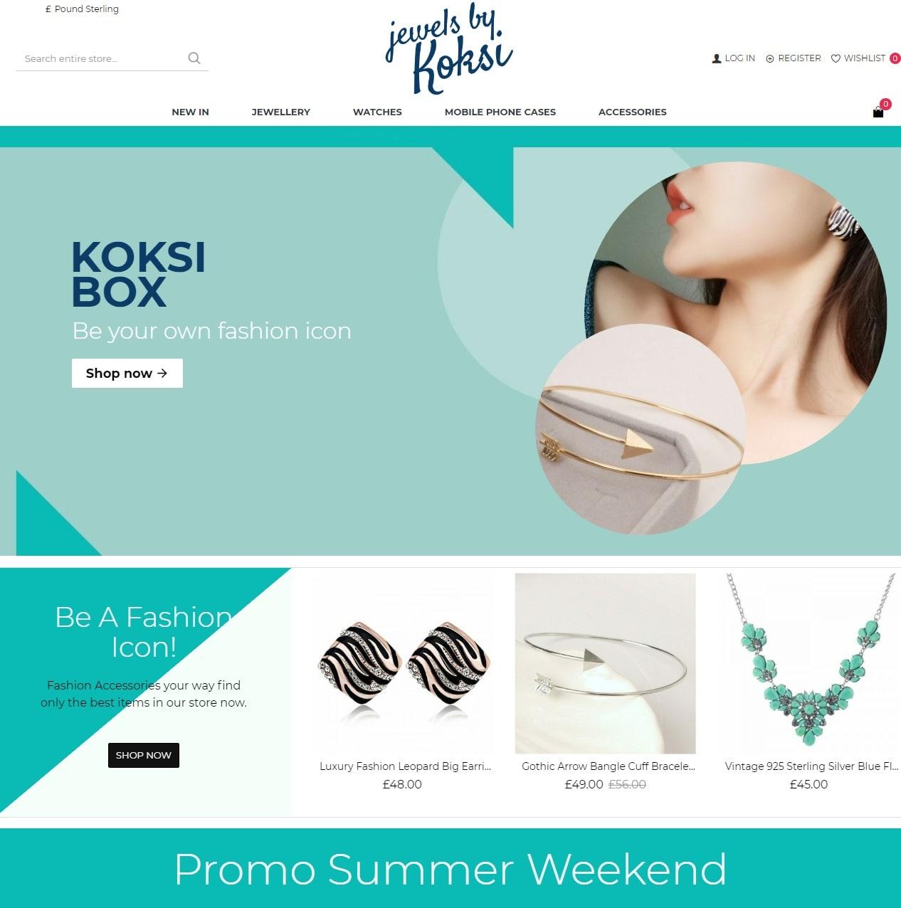 Koksi Box - Онлайн магазин за мода, бижута аксесоари