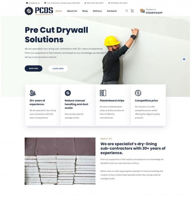 PCDS pre cut drywall solutions